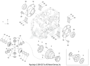 Transmission - Rear Diff System Group