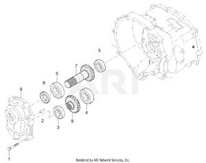 Transmission - Drive Shaft Group