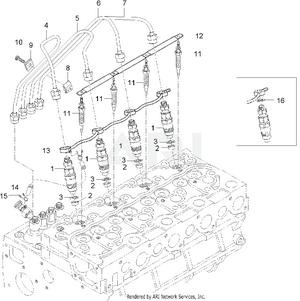Engine - Nozzle Holder Group