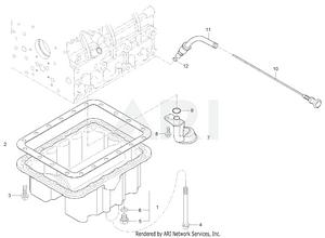 Engine - Oil Pan Group (363100020 -)