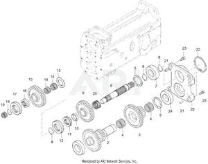 Transmission - Speed Shift System Group (- 263100012)