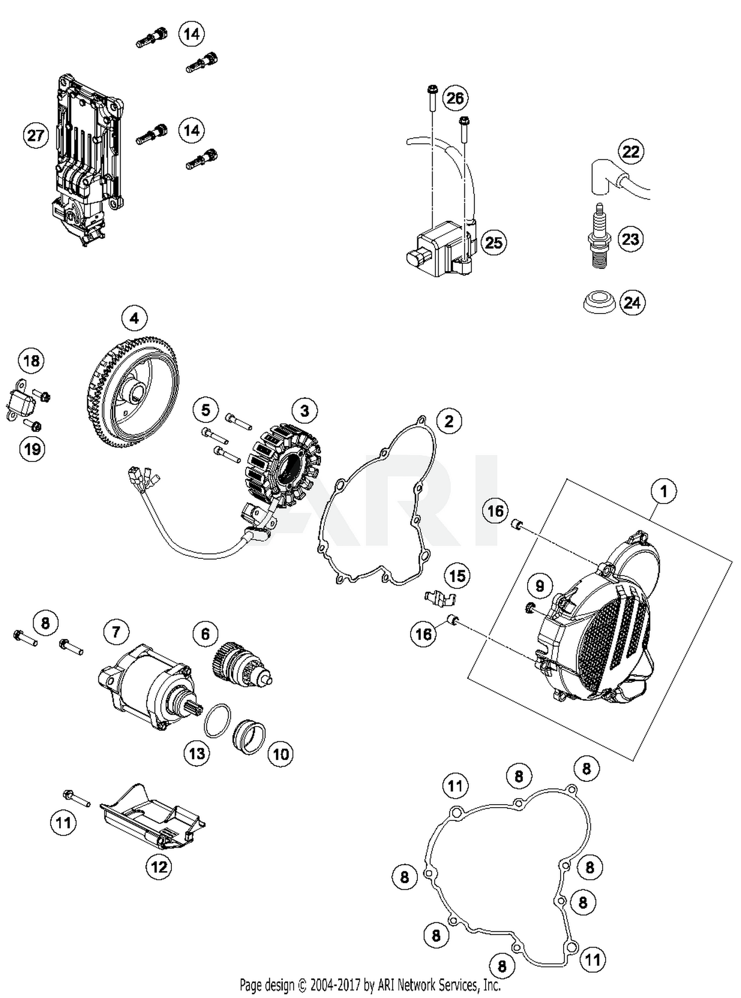 2018 Ktm 250 Xc W Tpi Ignition System Parts Best Oem Engine Diagram Schematic Search Results 0 In Schematics