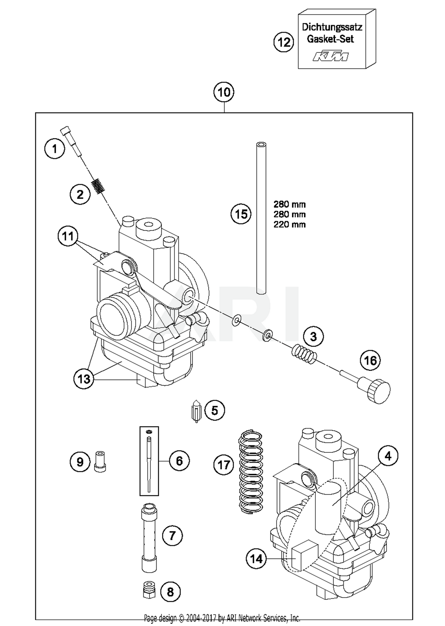 Ktm Carb Diagram Schematics Wiring Carburetor Drz 400 Upgrade Dirt Bike 2017 65 Sx Parts Best Oem Enzyme