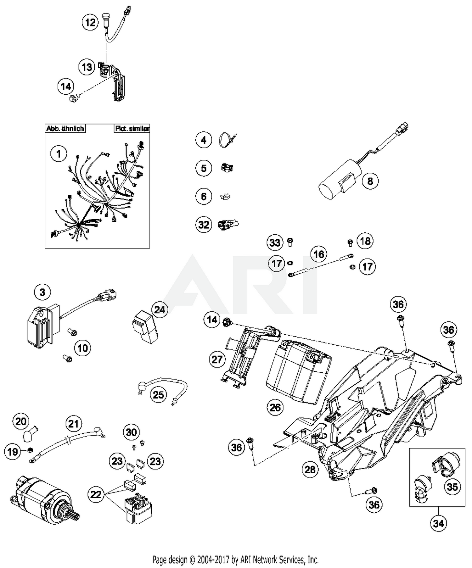 Ktm 83013026000 Best Price On Cable Guide Parts At 2013 450 Xc W Wiring Diagram Part 5 Quantity Required 2