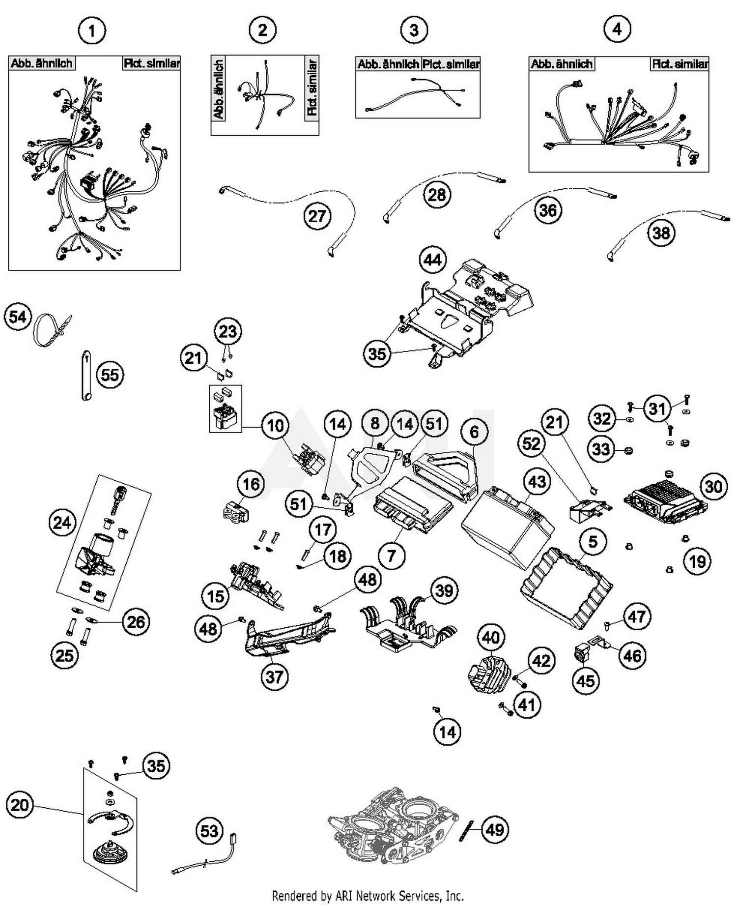 2017 Ktm 1090 Adventure R Wiring Harness Parts Best Oem Diagram Schematic Search Results 0 In Schematics
