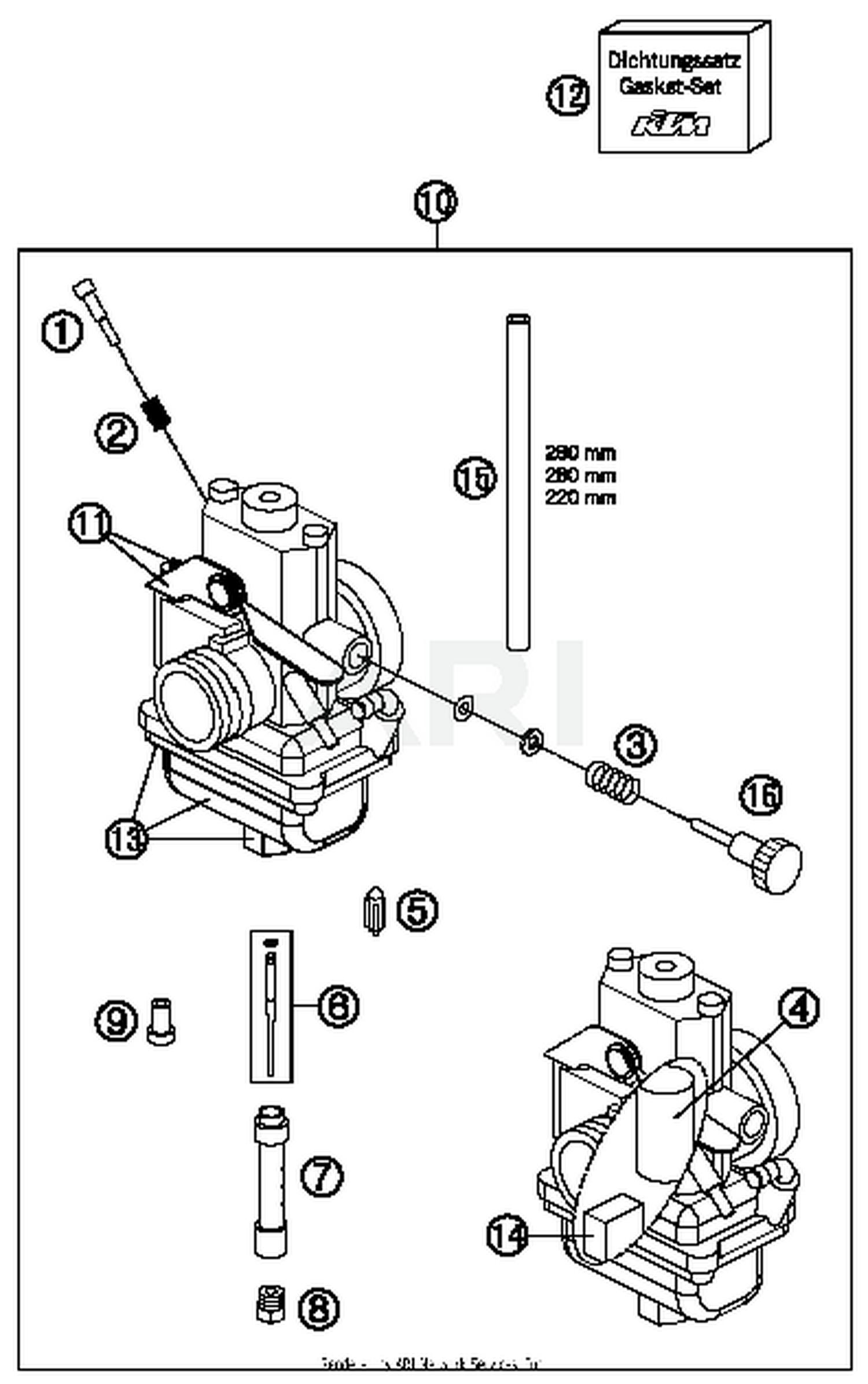 Ktm Carb Diagram Schematics Wiring Carburetor Drz 400 Upgrade Dirt Bike 2016 65 Sx Parts Best Oem Simple