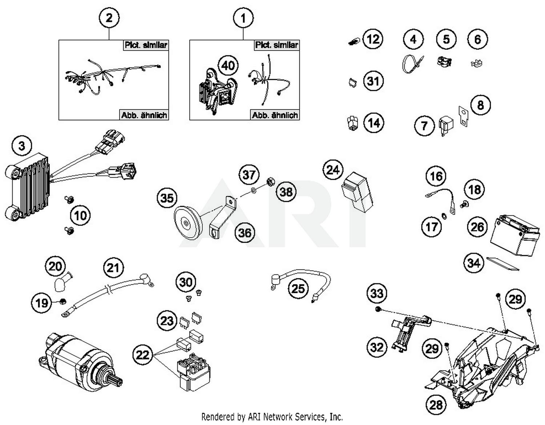 Ktm Wiring Diagram Library 530 Exc 2017 500 F Harness Parts Best Oem Rh Bikebandit Com 2013