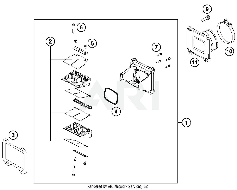 2016 Ktm 250 Xc W Reed Valve Case Parts Best Oem Cb50 Wiring Diagram Schematic Search Results 0 In Schematics