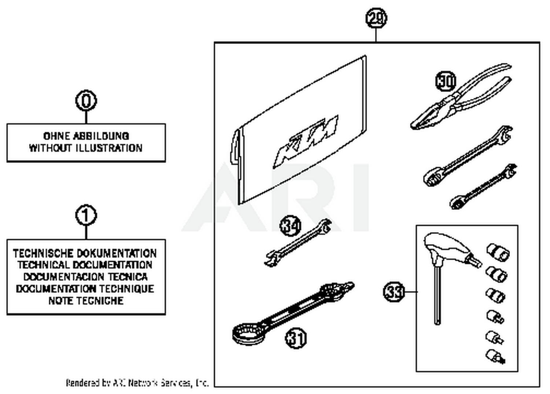 Husqvarna Official Parts Protective fork sticker set 52000093