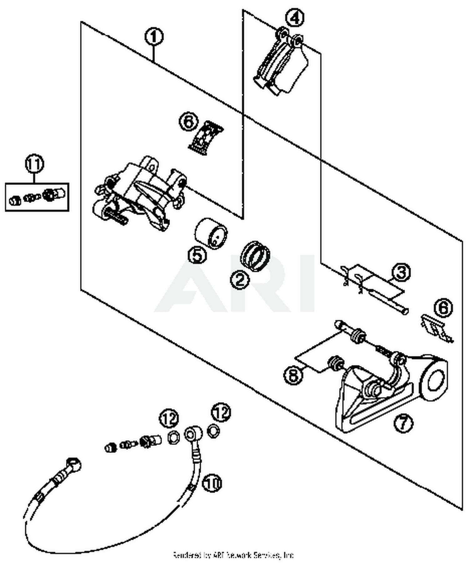 2016 Ktm 350 Sx F Brake Caliper Rear Parts Best Oem Sxf Wiring Diagram Schematic Search Results 0 In Schematics