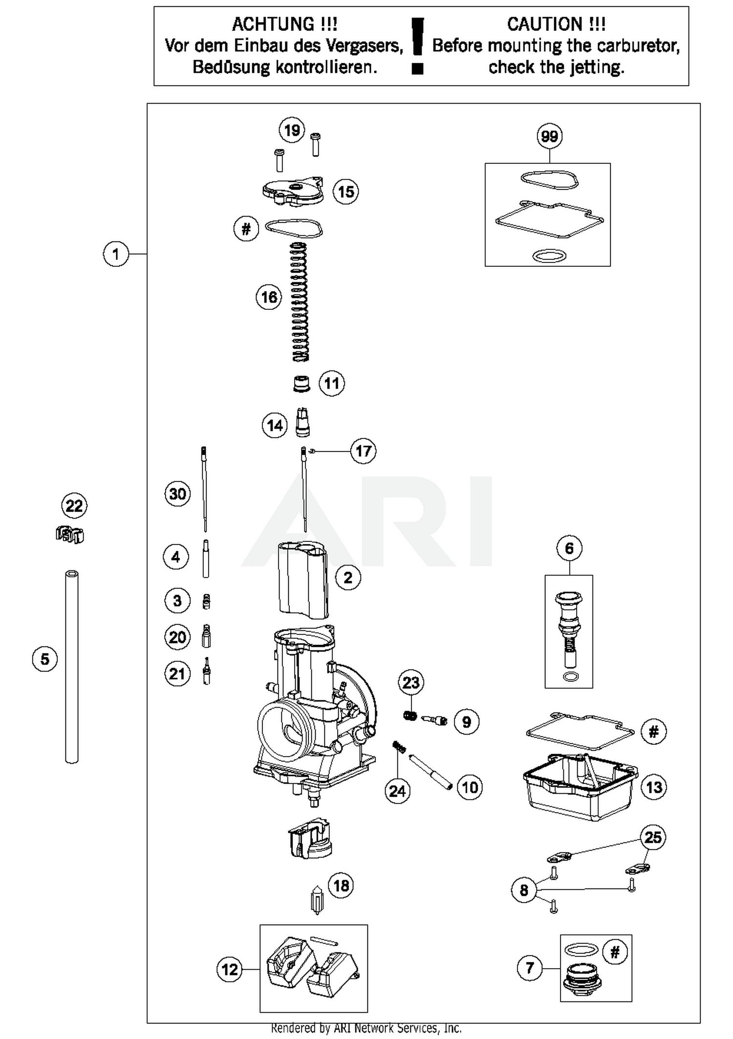Ktm Carb Diagram - Schematic Wiring Diagram