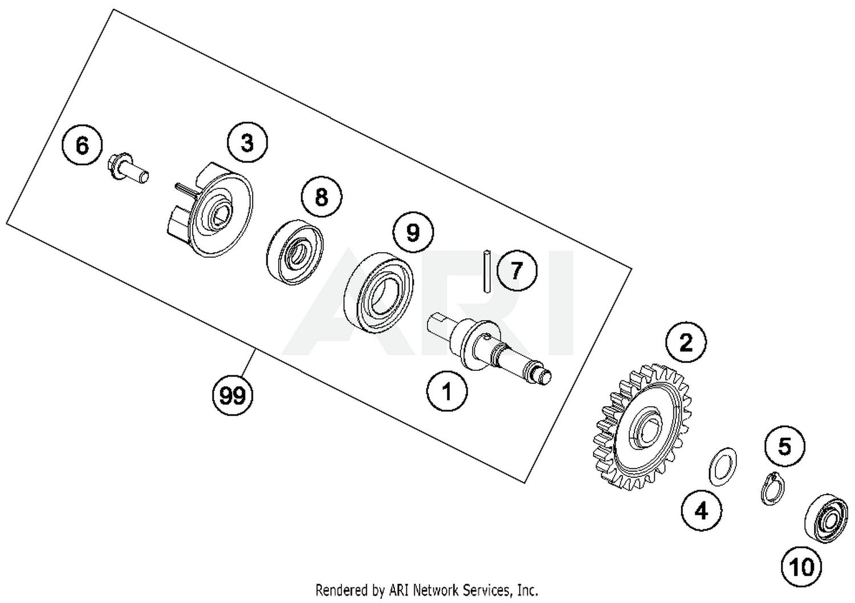 2016 KTM Freeride 250 R Water Pump Parts - Best OEM Water Pump Parts Diagram  for 2016 Freeride 250 R Motorcycles