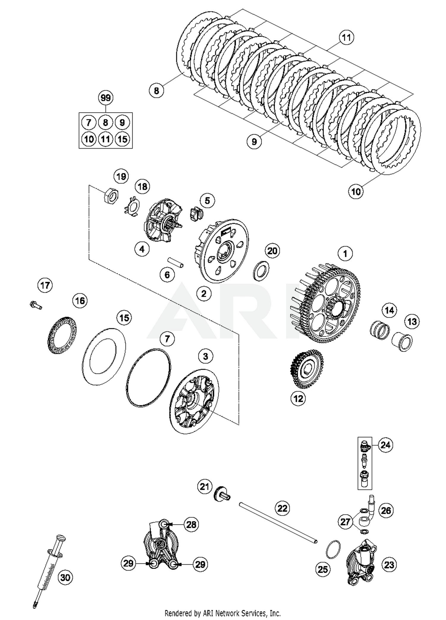 diagram part # 22 quantity required: 1