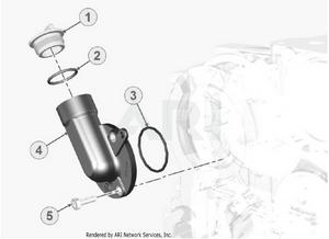 LM Trac 387 Oil filling kit