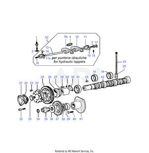 LM Trac 286 Camsaft