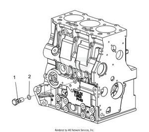 LM Trac 287 Oil relief valve