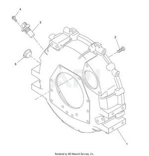 LM Trac 287 Flywheel housing