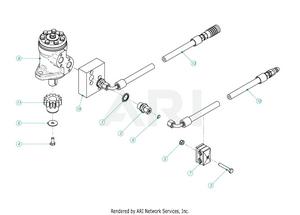 LM Trac Leaf Blower Hydraulic