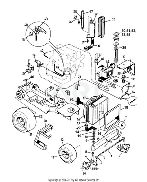 LM Trac 285 Frame Equipments