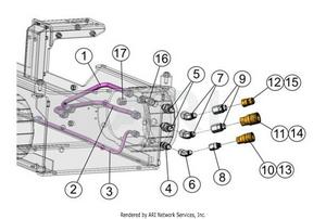 LM Trac 287 Quick connectors