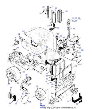 LM Trac 286 Frame equipments