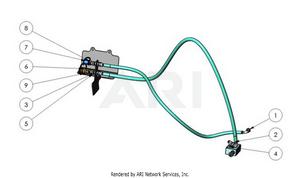 LM Trac 287 Rear motor hydraulics