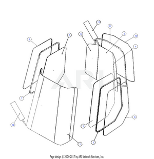 LM Trac 286 Windows and gaskets