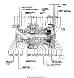 LM Trac 285 Wheel motor