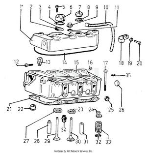 LM Trac 285 Cylinder head