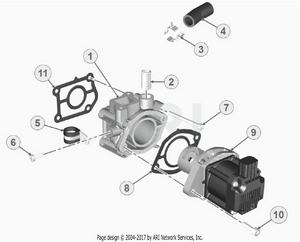 LM Trac 387 EGR valve