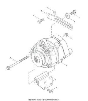 LM Trac 287 Alternator