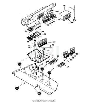 LM Trac 285 Instrument Panel Equipments