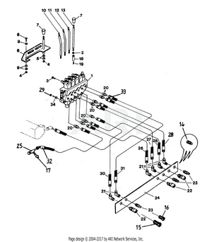 LM Trac 285 Direction valve