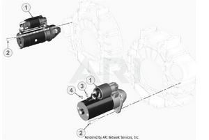 LM Trac 387 Starting motor
