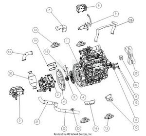LM Trac 387 Engine add-ons