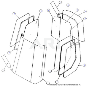 LM Trac 387 Windows and gaskets