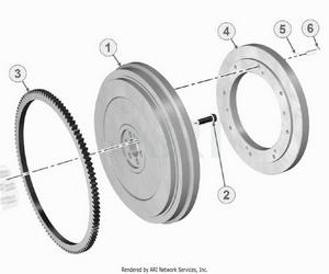 LM Trac 387 Flywheel