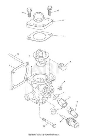 LM Trac 287 Thermostat