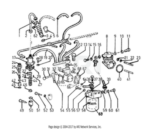 LM Trac 285 Fuel System