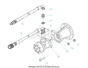 LM Trac Leaf Blower Drive Section