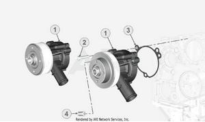 LM Trac 387 Water pump