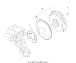 LM Trac 287 Flywheel