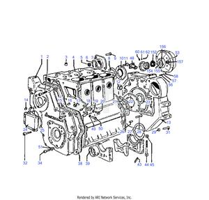 LM Trac 286 Cylinder block
