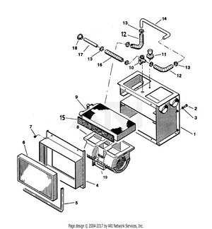 LM Trac 285 Heater Equipments