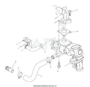 LM Trac 287 EGR valve