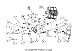 LM Trac 287 Steering unit