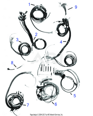 LM Trac 286 Electrical system, cable sets