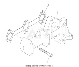 LM Trac 287 Exhaust manifold