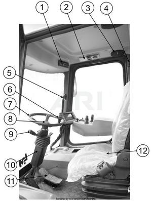 LM Trac 387 Cabin accessories 3