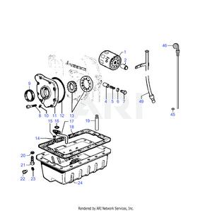 LM Trac 286 Lubrication system